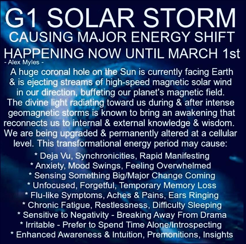 solar storm february 2019 effects - photo #18
