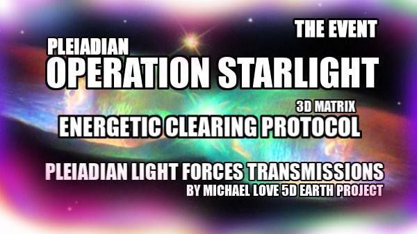 3 ** THE EVENT – OPERATION STARLIGHT COMMENCES! ** <3